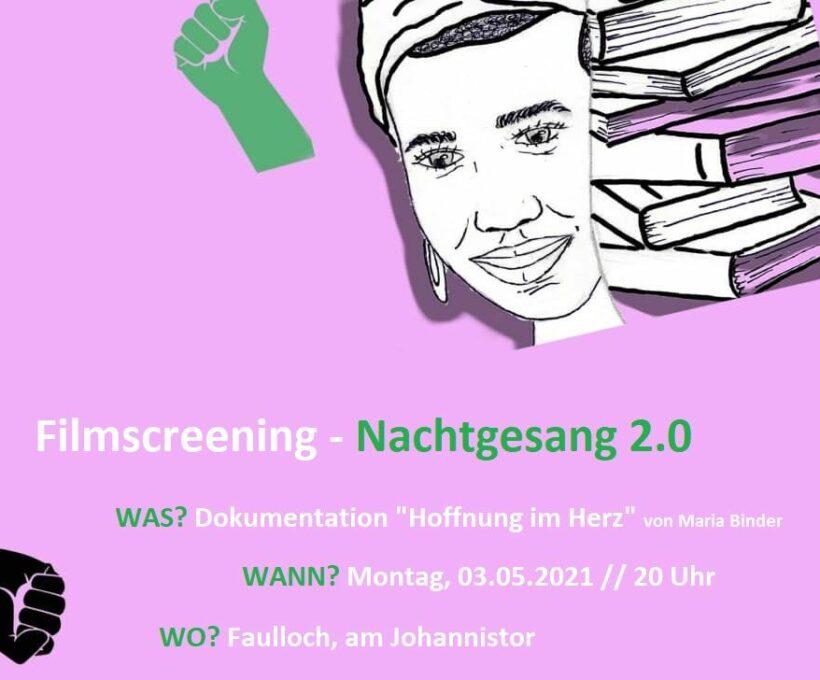 Filmscreening – Nachtgesang 2.0
